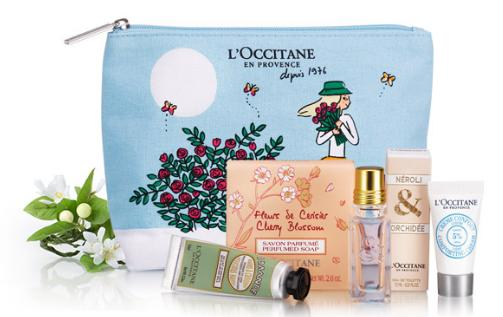 Free 5-Pc Mother's Gift Set with Your $55 Purchase @ L'Occitane