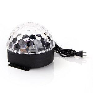 $9.99 ANNT DJ Club Bar Disco Party Crystal LED RGB Magic Ball Stage Effect Light Lighting Auto Voice Activated