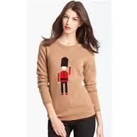 Burberry Brit Toy Soldier Wool & Cashmere Sweater