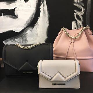 Up to 60% Off + Extra 10% Off + Free Shipping Karl Lagerfeld Bag @ Mybag.com (US & CA)