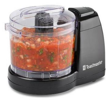 $9.97 Toastmaster TM-61MC 1.5 Cup One-Touch Mini Food Chopper