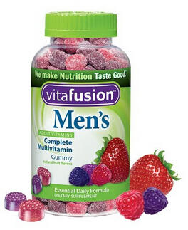 $6.30 Vitafusion Men's Gummy Vitamins, 150 Count