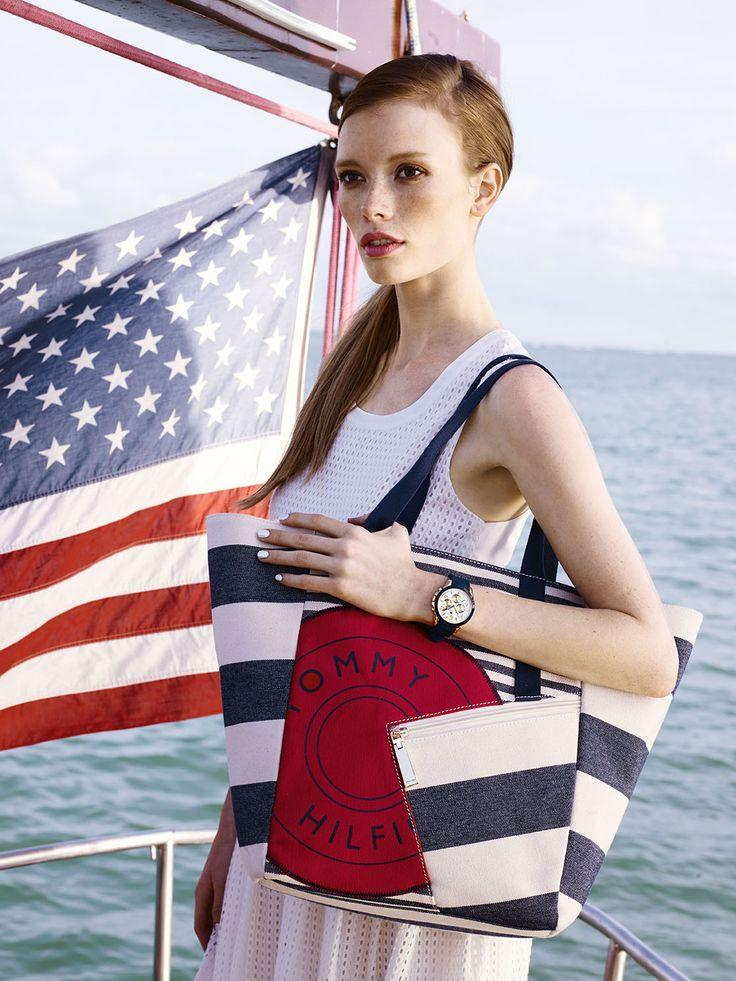 Up to 72% Tommy Hilfiger Tote @ 6PM.com