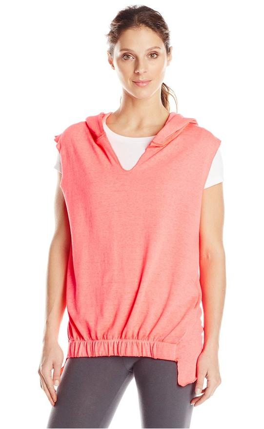 Calvin Klein Performance Women's Banded Front Hooded Vest