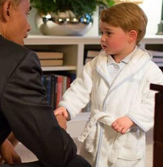 Only £27 + FREE Worldwide Delivery over £100 Prince George's robe Pre-Order Now