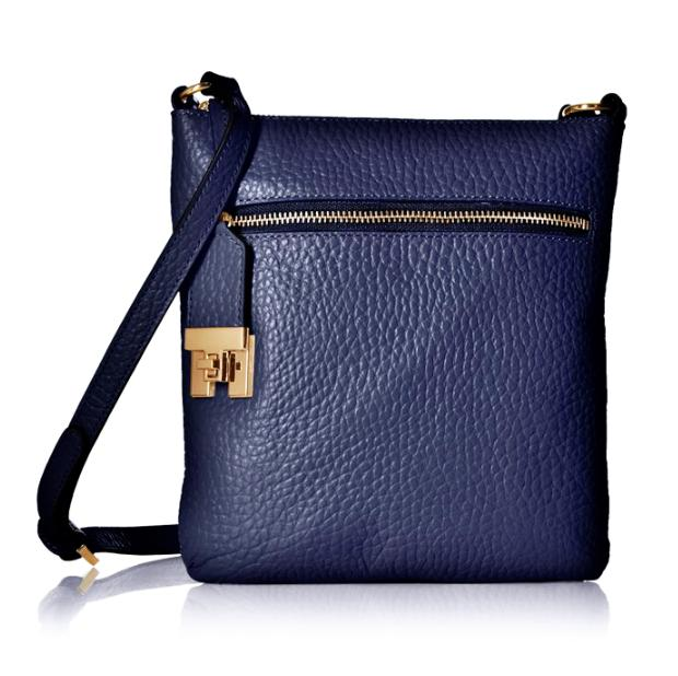 $34.30 Tommy Hilfiger Faye Big Pebbled Cross-Body Bag