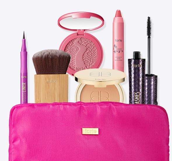 Today Only! for only $59 + Free Shipping! Create a custom  Mother's Day kit with 7 full-sizes pieces  @Tarte Cosmetics