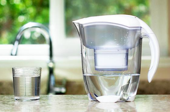 Lowest price! $23.30 MAVEA 1001126 Elemaris XL 9-Cup Water Filtration Pitcher, White