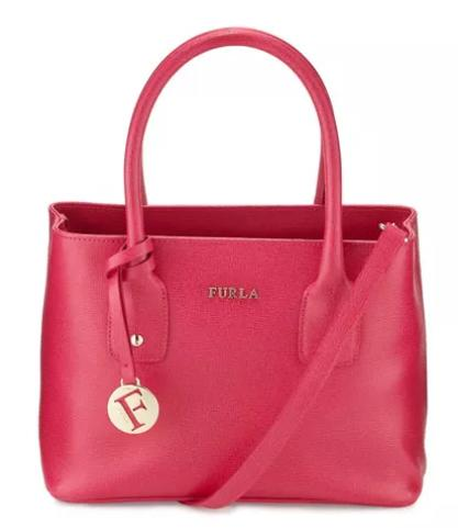 Furla Josi Small Leather Tote Bag