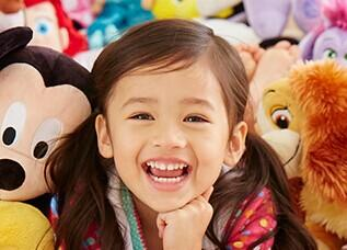 Buy 1 Get 1 for $1 Plush Toys Sale @ disneystore