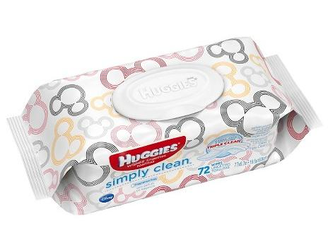 HUGGIES Simply Clean Unscented Soft Baby Wipes, 648 Count @ Amazon