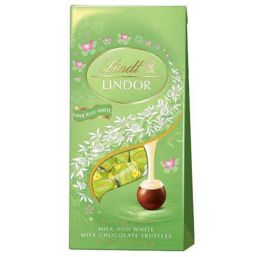 Lindt Lindor Chocolate Lindor Truffles, Milk Chocolate, 19 Ounce