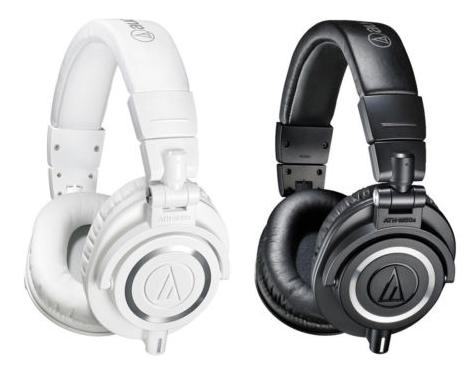 $99.99 Audio-Technica ATH-M50X Headphones + $30 VUDU Credit & 3 Months of Rhapsody
