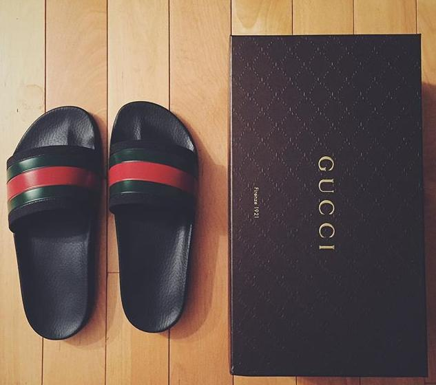 $175 Gucci 'Pursuit '72 Slide' Sandal @ Nordstrom