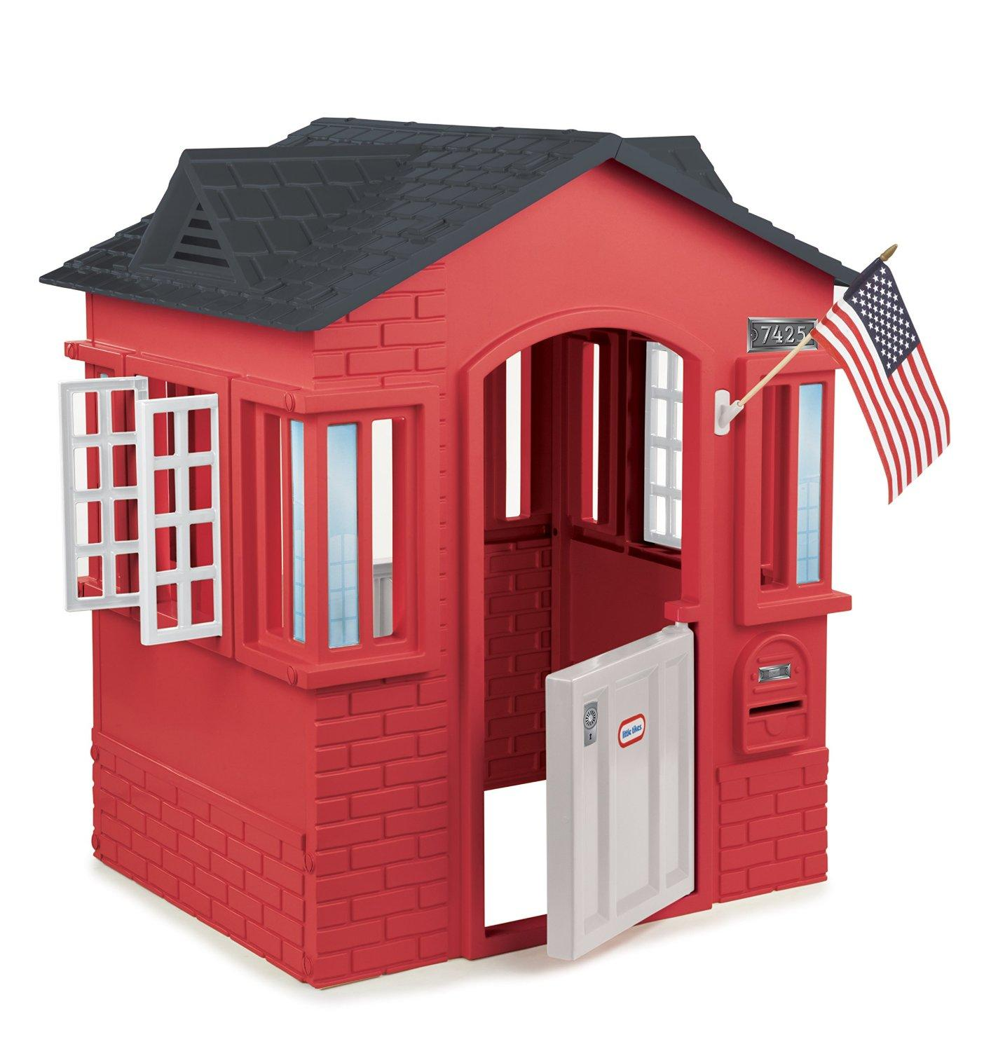 $103.99 Little Tikes Cape Cottage, Red