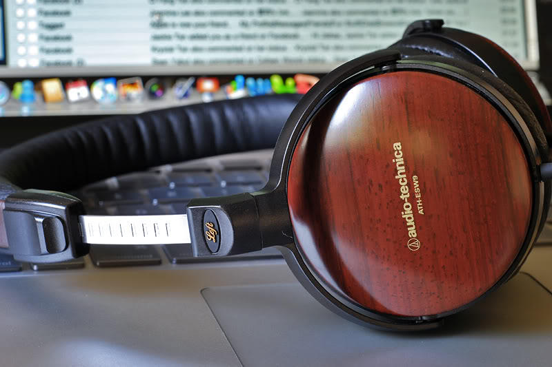 As low as $149 Audio-Technica ATH-ESW9A Portable Wooden Headphones