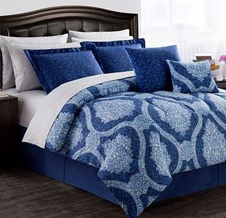 Jessica Sanders Reversible 12-Pc. Comforter Sets