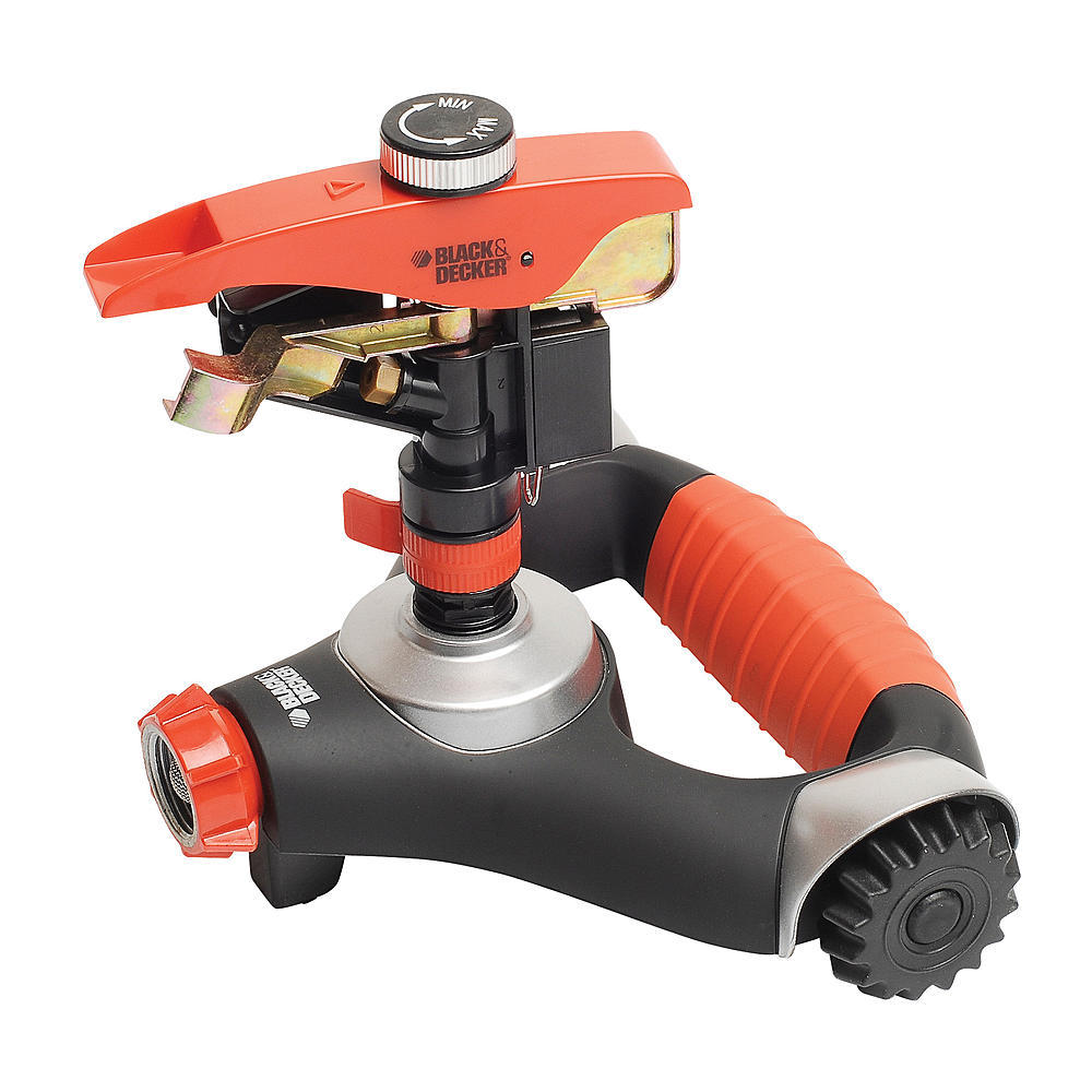 Black & Decker Heavy-Duty BD1994 Impulse Sprinkler with Wheels