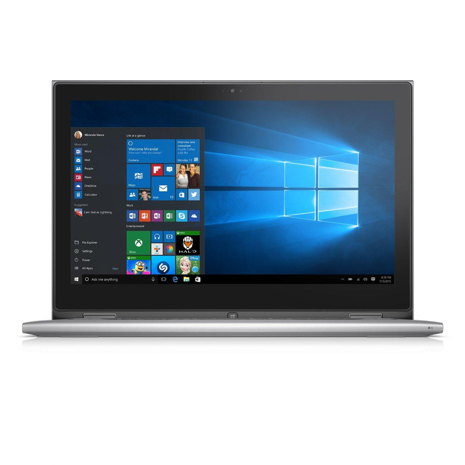 Dell Inspiron 13 i7359-6790SLV 2 in 1 Touchscreen Laptop (i7, 8 GB, 256 GB)