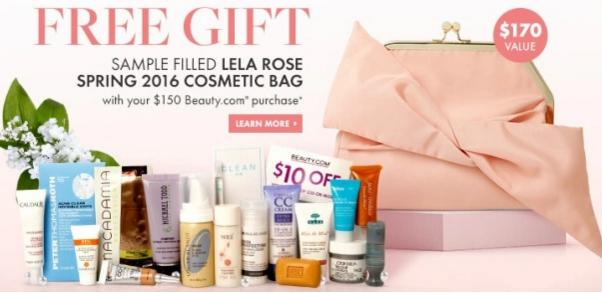 Free 18 Deluxe Samples with $150 Purchase @ Beauty.com