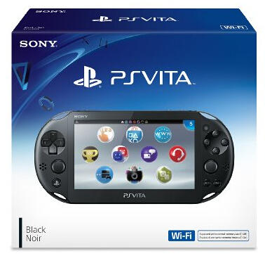 $159.99 Sony PlayStation Vita WiFi 第二代 黑色版