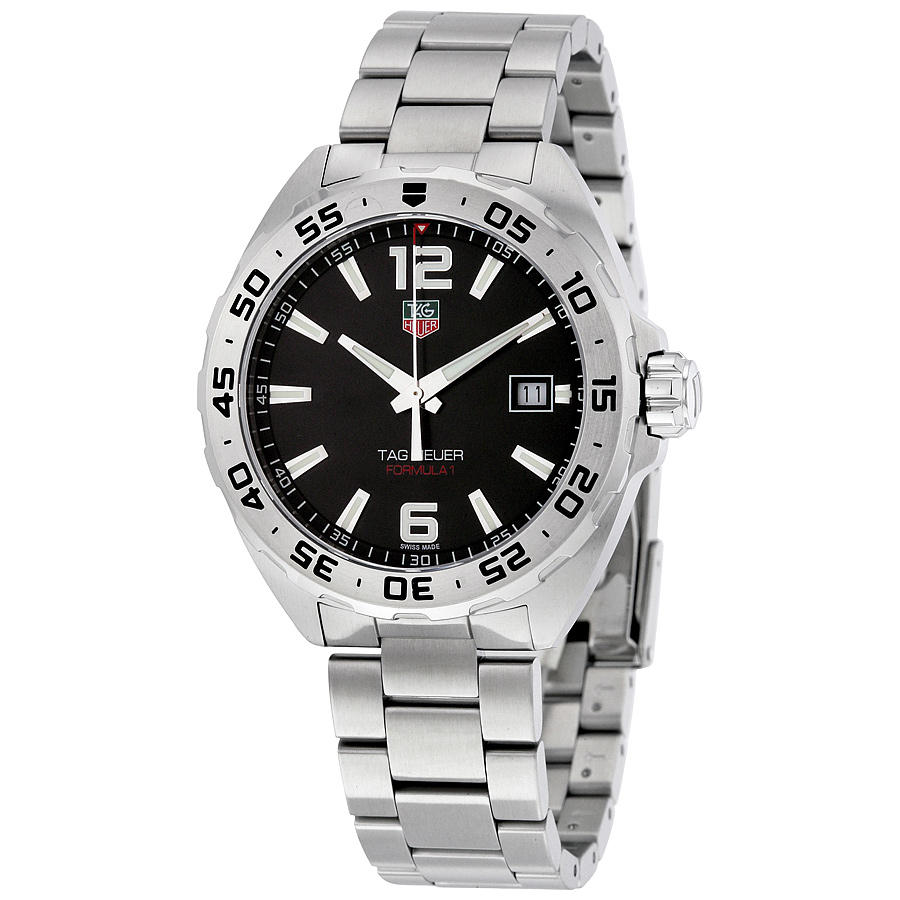 Lowest price! $799 TAG Heuer Men's Formula 1 Stainless Steel Watch