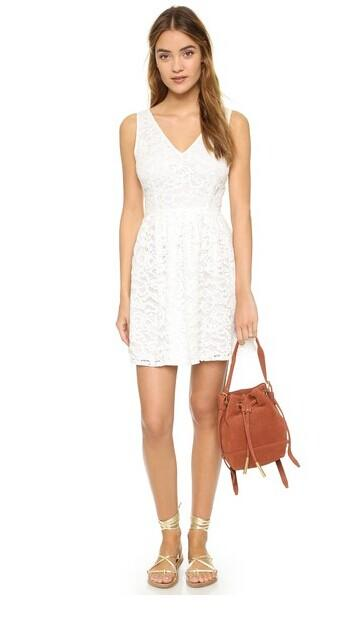 BB Dakota Kerry Lace Mini Dress @ shopbop.com