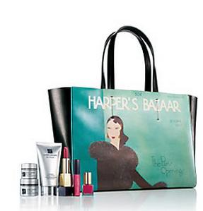 Receive Sample-Filled Harper's Bazaar Bag with $80 Purchase @ Saks Fifth Avenue