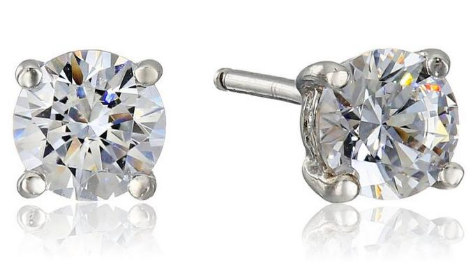 FREE 1 cttw Swarovski Zirconia Studs with Qualifying $25 Purchase