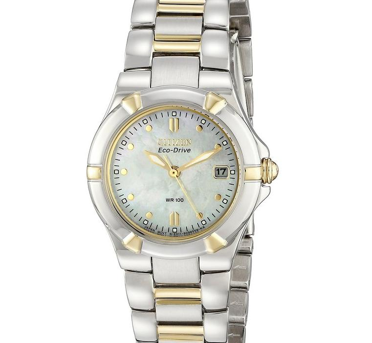 Lowest price! $177 Citizen Women's Eco-Drive Riva Two-Tone Watch