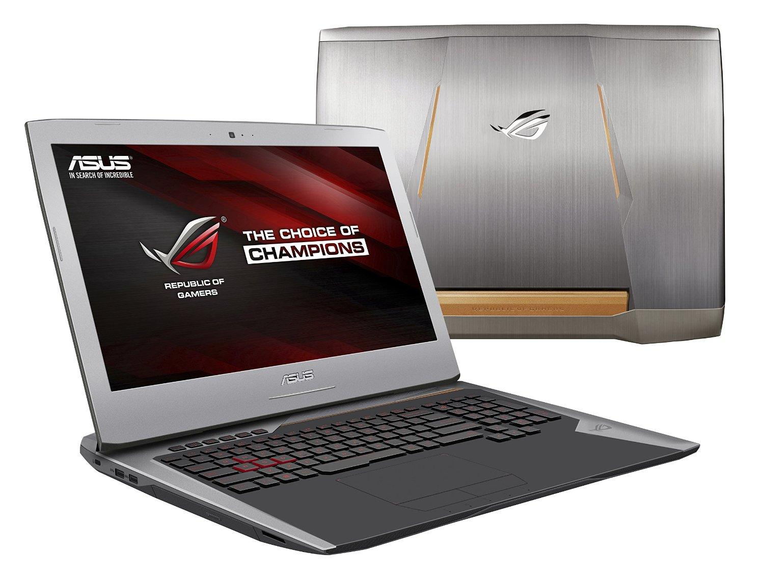 $1299.00 ASUS ROG G752 Signature Edition Touch Screen Gaming Laptop(i7,24gbRam,256GBSSD.GTX965M)