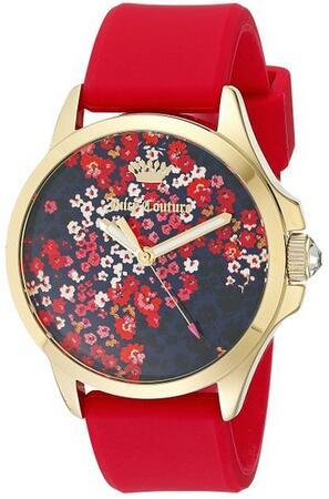 $82 Juicy Couture Women's 1901306 Daydreamer Analog Display Quartz Red Watch