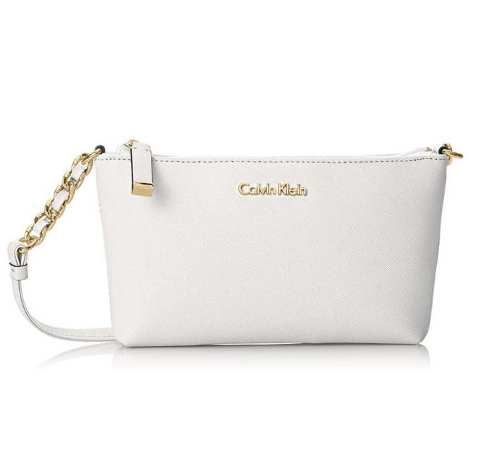 Calvin Klein 2 CR Saffiano Cross Body Bag