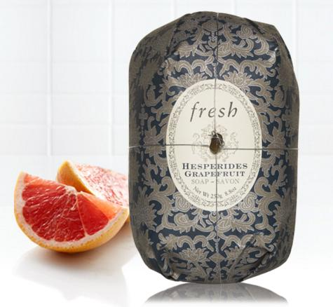 Free Full-size Hesperides Grapefruit  Oval Soap With Over $65 Purchase @ Fresh