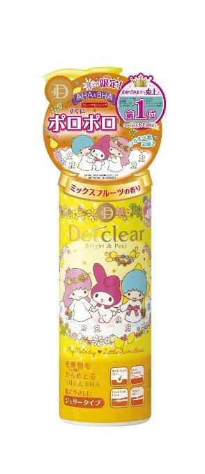$14.6 Meishoku Delclear Bright and Peel Facial Peeling Gel - Mix Fruit 180ml