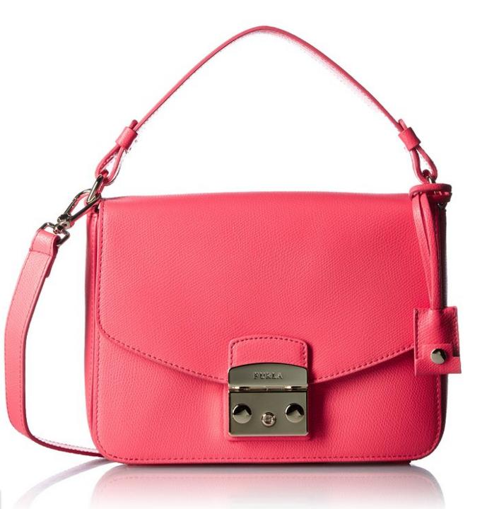 $191.85 Furla Metropolis Small Convertible Shoulder Bag