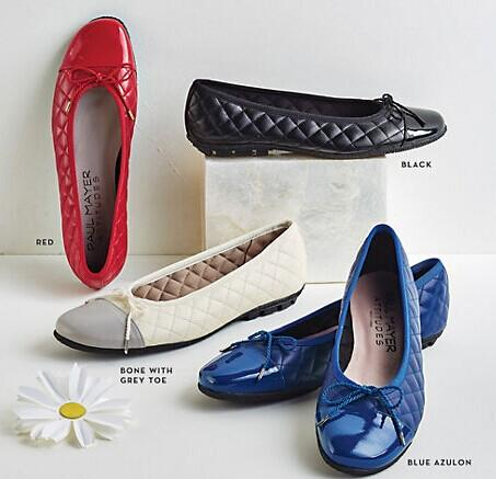 Paul Mayer Best Quilted Ballet Flats @ Bloomingdales