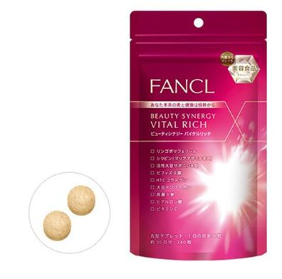 FANCL Beauty Synergy Vital Rich 240tablets