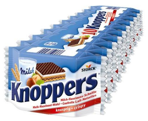 $12.98 Storck Knoppers 10 Pack - 250g