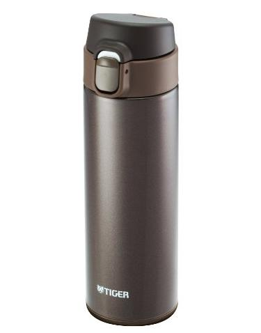 Tiger MMY-A048-TV Stainless Steel Vacuum Insulated Travel Mug, 16-Ounce, Brown @ Amazon