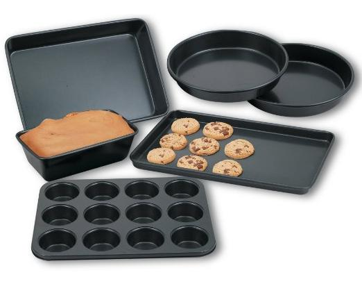 $12.74 Cook N Home 6-Piece Heavy Gauge Nonstick Bakware Set @ Amazon