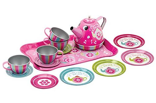 Schylling Toys Musical Tin Tea Set @ Amazon