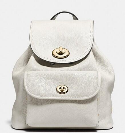 COACH 'Mini' Pebbled Leather Rucksack @ Nordstrom