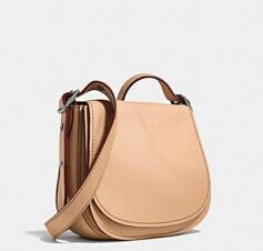 SADDLE bag 23 in glovetanned leather @ Coach
