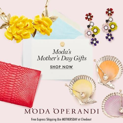 Receive Free Express Shipping for any purchase @ Moda Operandi