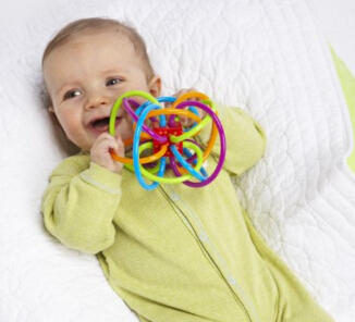 $7.59 Manhattan Toy Winkel Rattle and Sensory Teether Activity Toy