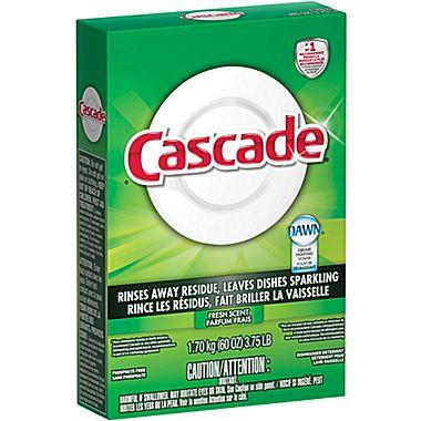 $3.99 Cascade® Automatic Dishwasher Powder, 60 oz.