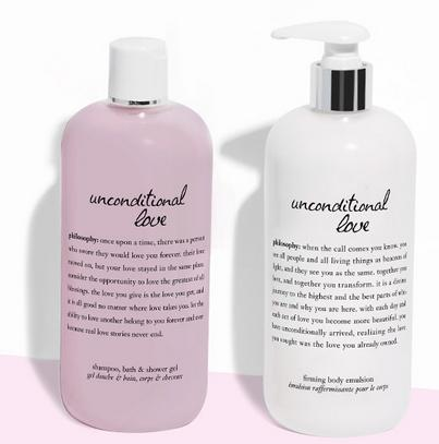 Free Unconditional Love Duo With Any $65 Order @ philosophy