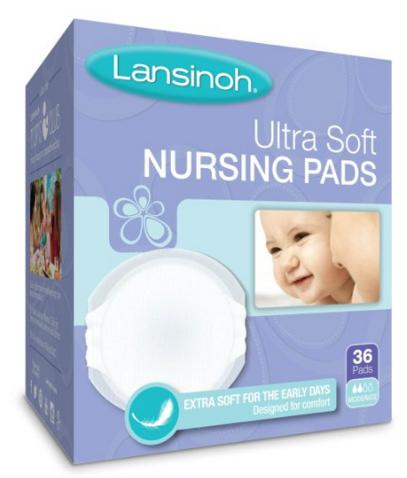 Lansinoh Ultra Soft Disposable Nursing Pads, 36 Count