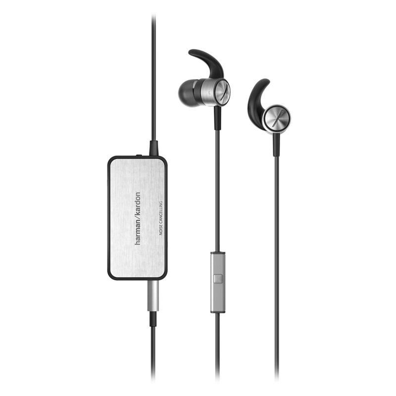 IENC Active, Noise-cancelling, In-ear Headphones with Microphone